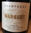 Champagne Marguet - Blanc de Noirs Premier Cru